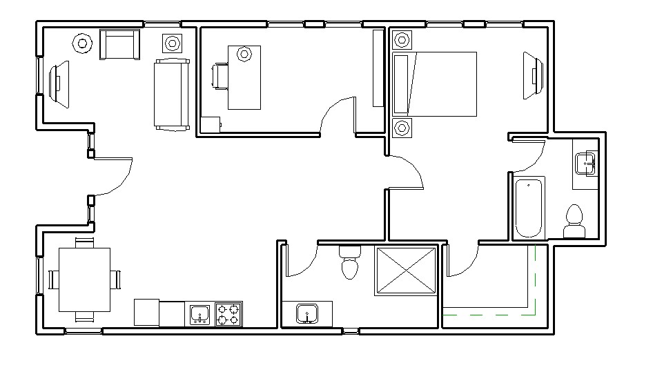 free container home floor plans
