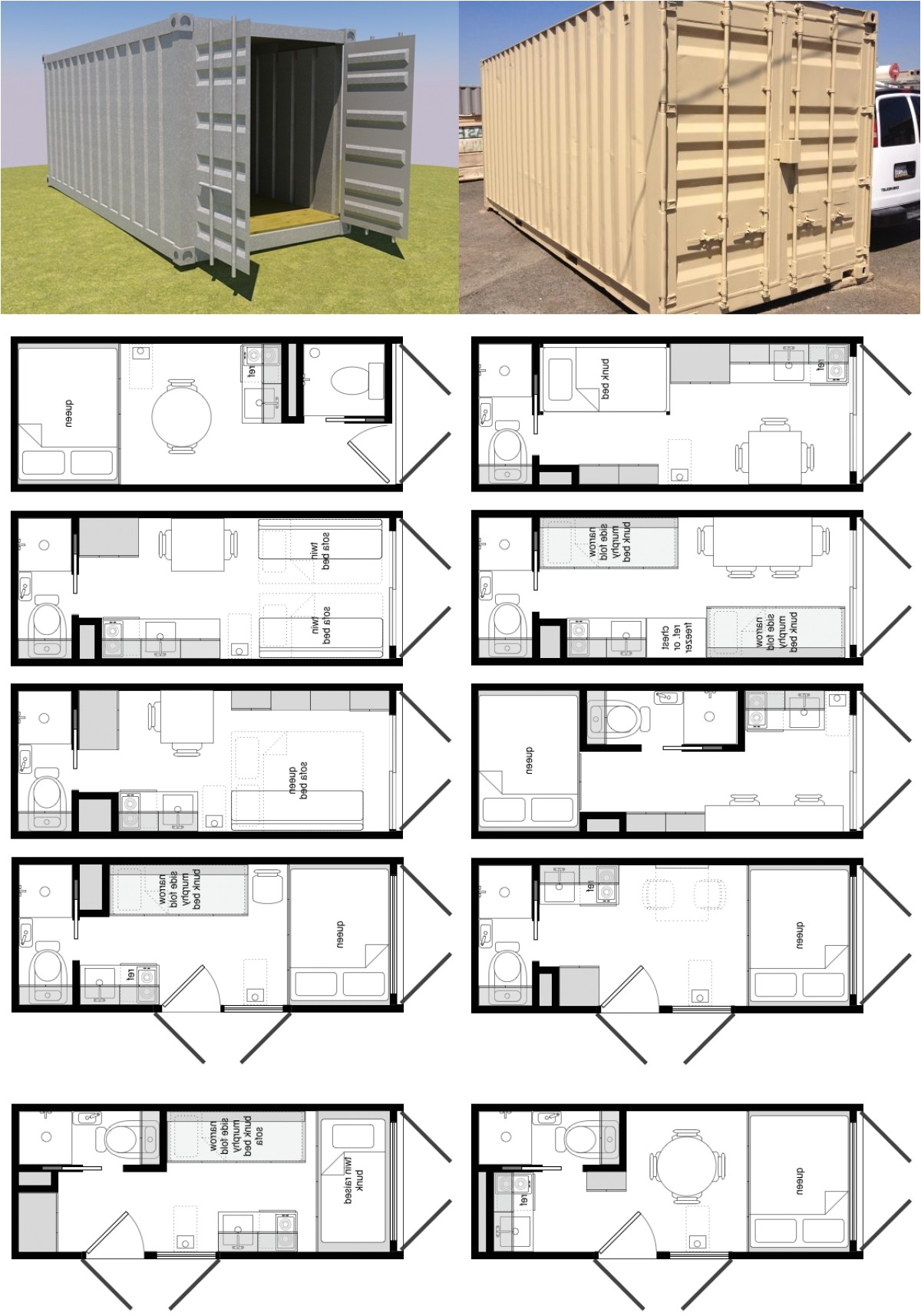free shipping container