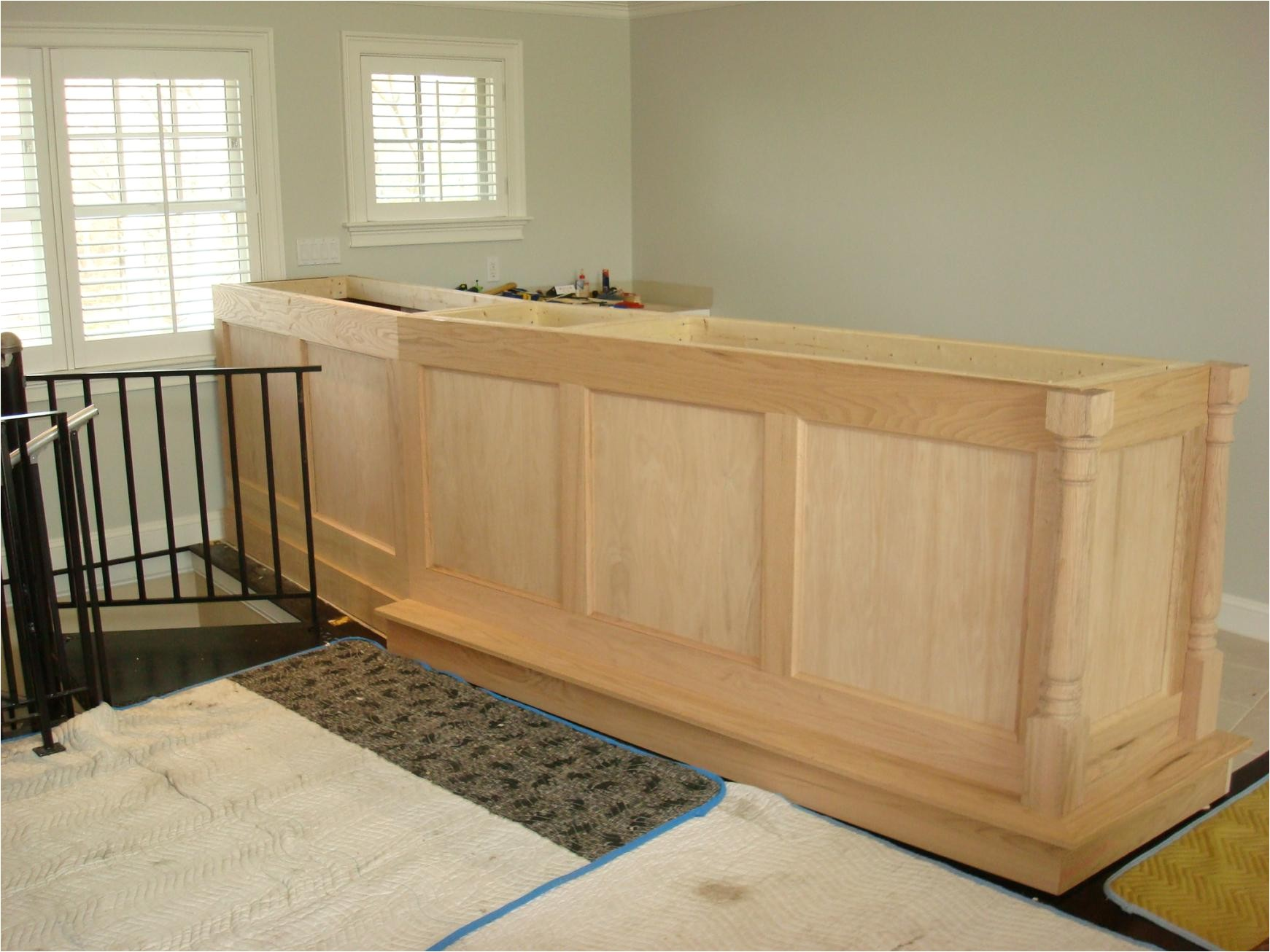 how to build a basement bar free plans