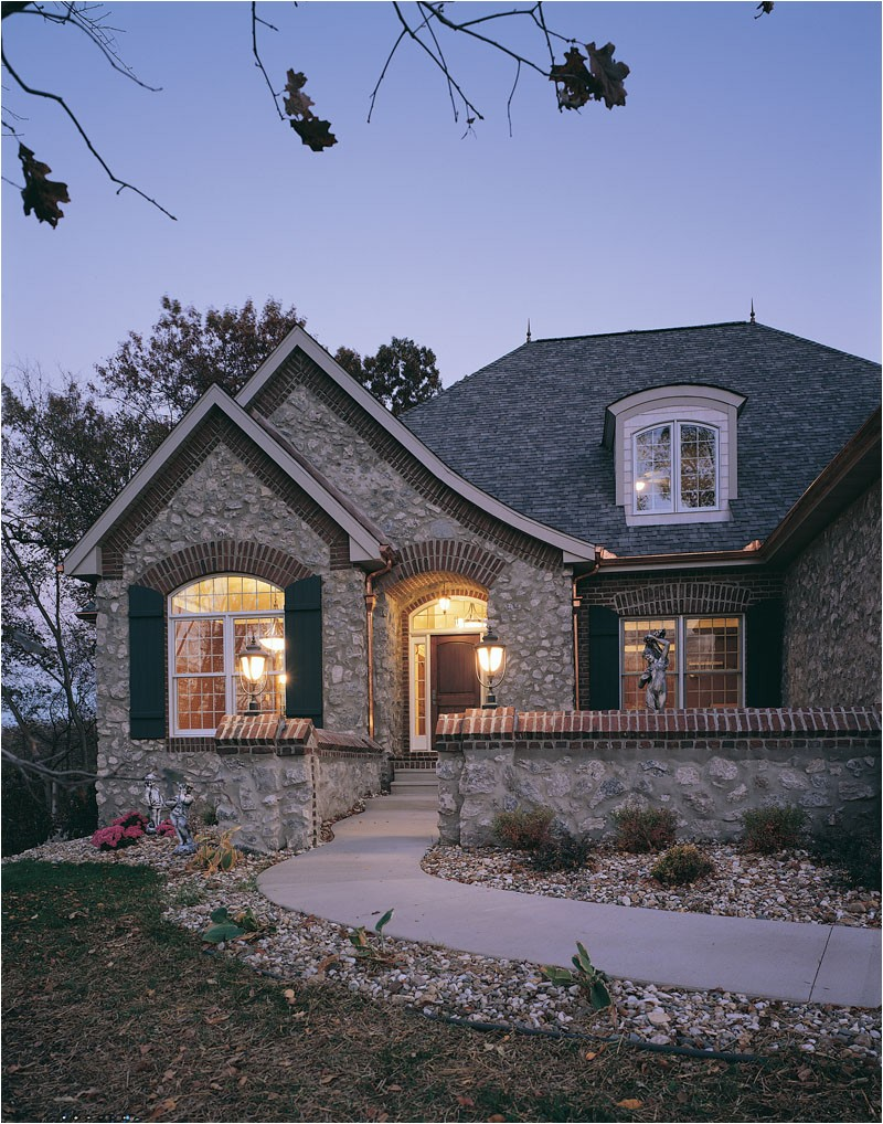 French Cottage Home Plans Pebble Ridge Country French Plan 051d 0189 House Plans