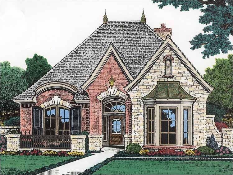 small french country house plans