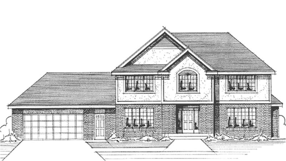 house plans with front view