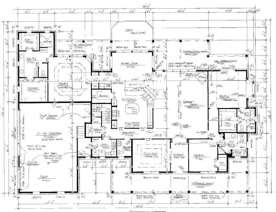 how much does it cost to get house plans drawn up