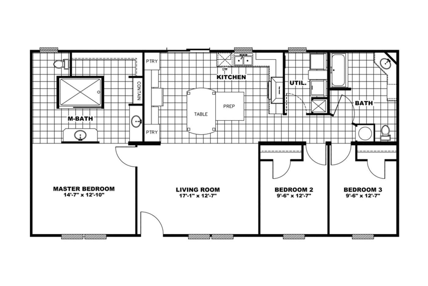 giles mobile homes floor plans