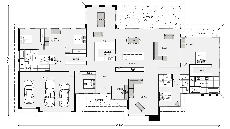 gj gardner home floor plans