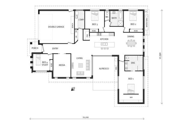 gj gardner house plan prices