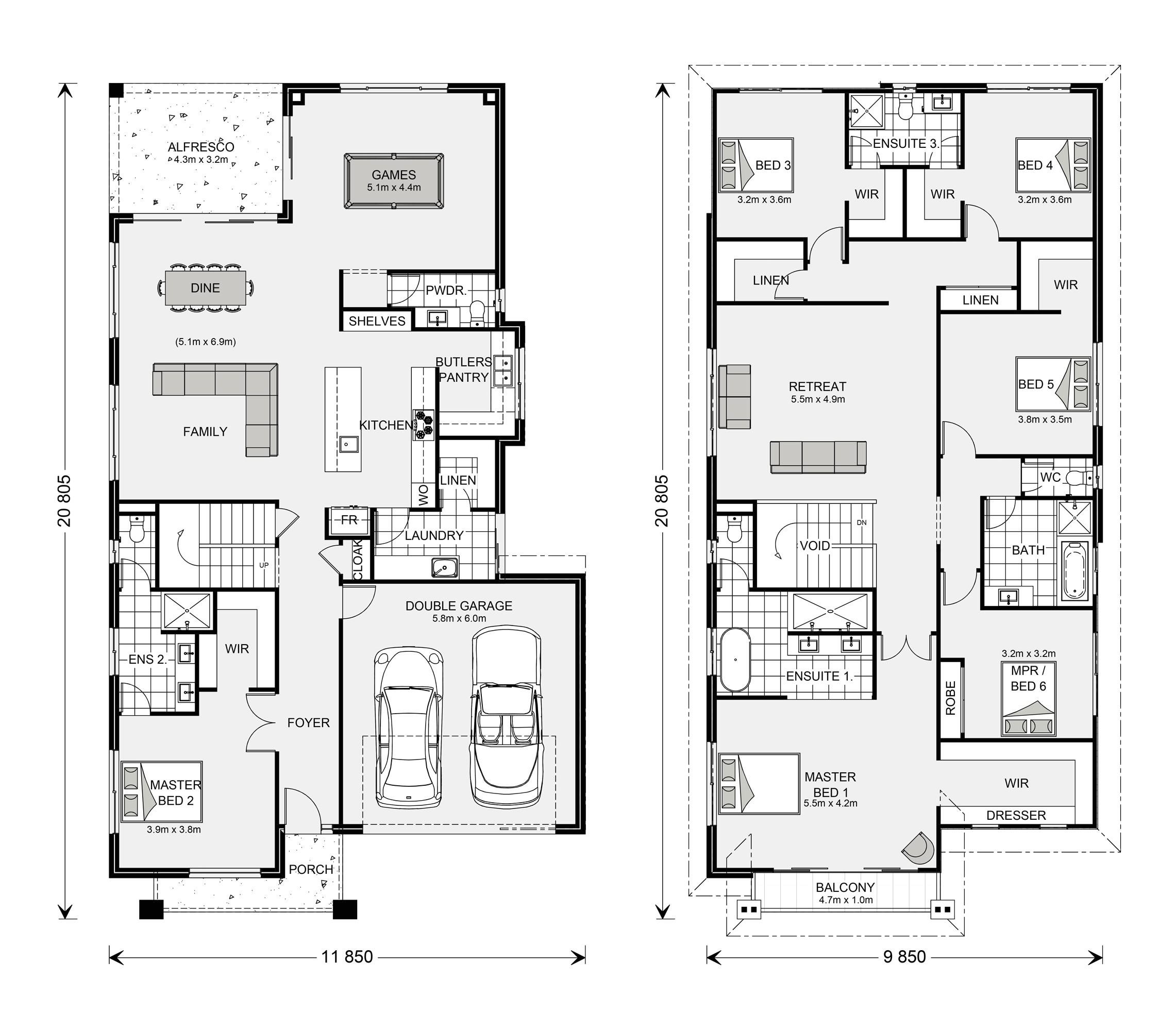 modern balmain 400 design ideas home designs in ballarat g j gardner gj