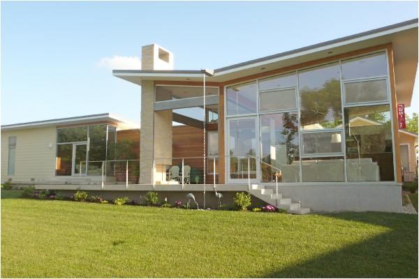 golf course house with modern open floor plan h home by ras a