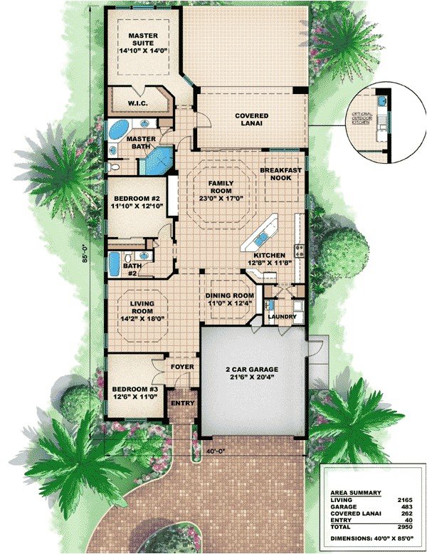 Golf Course Home Plans Great for Golf Course Living 66044we Architectural