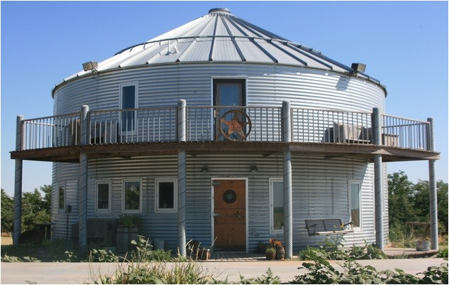 converted homes grain bins silos