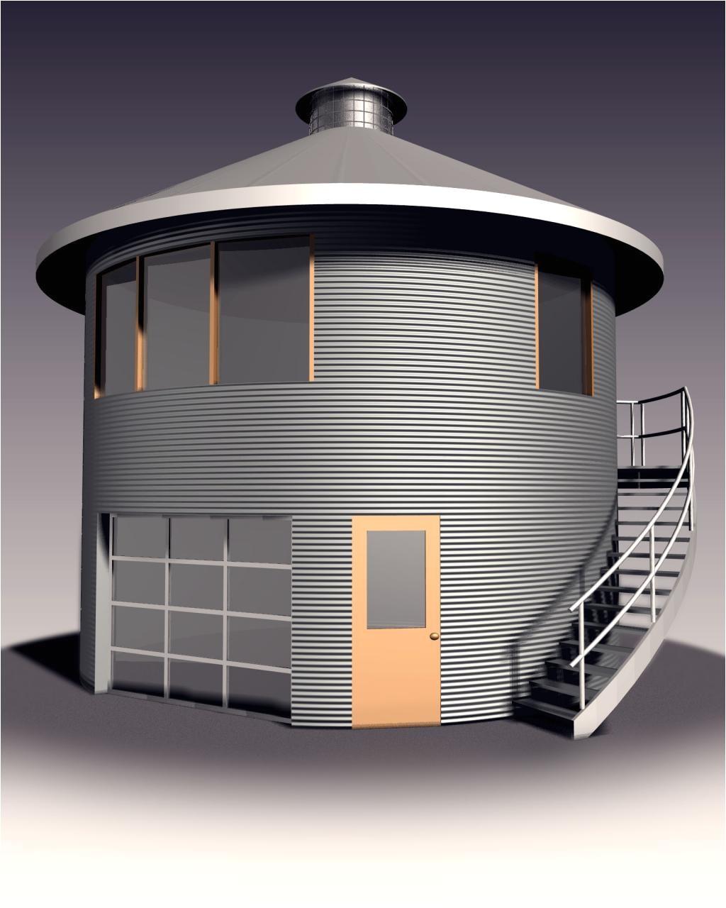 grain silo house history