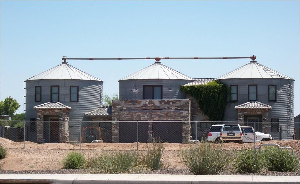 grain silo house plans