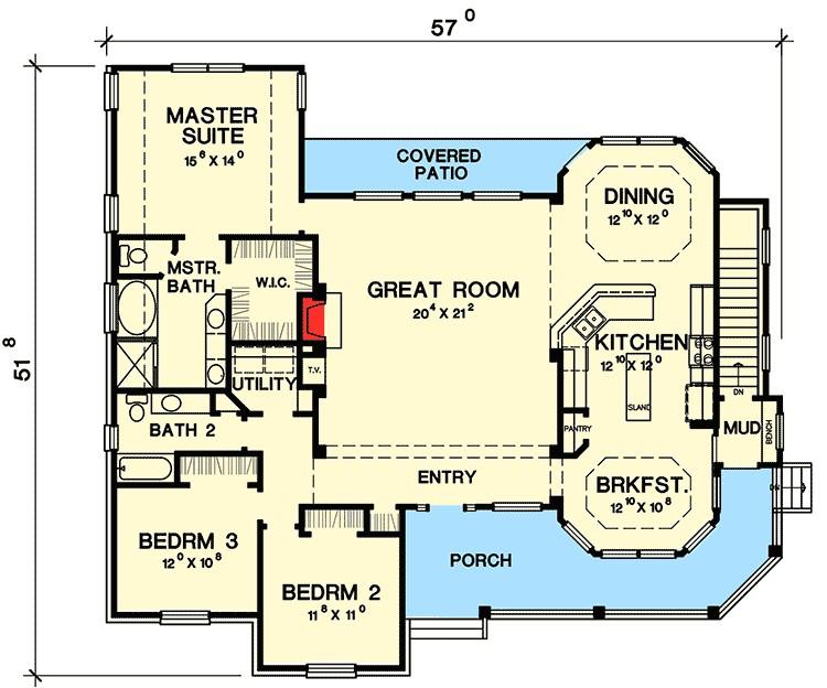 great little ranch house plan 31075d