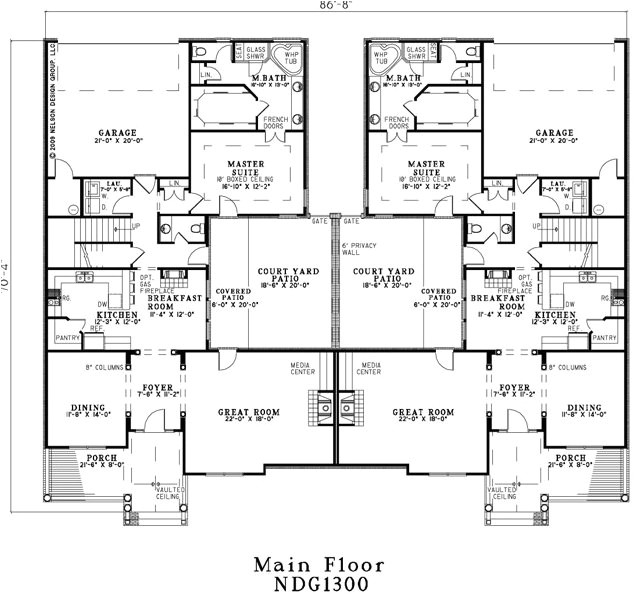group home floor plans