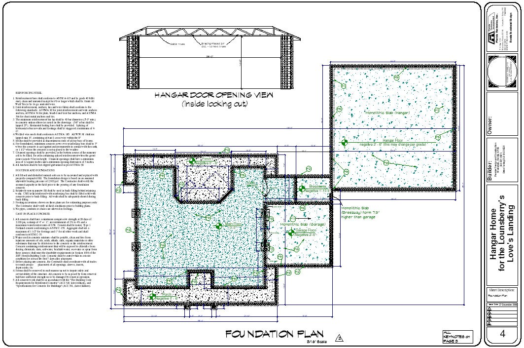 hangar house floor plans