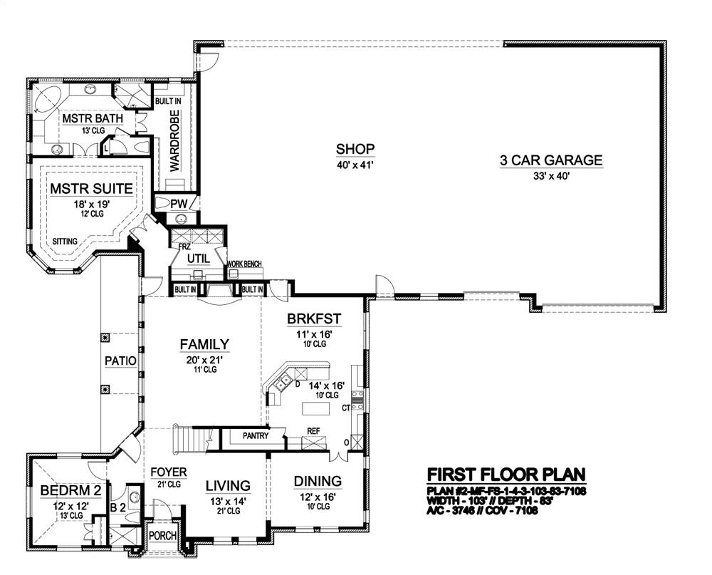 hangar house plans