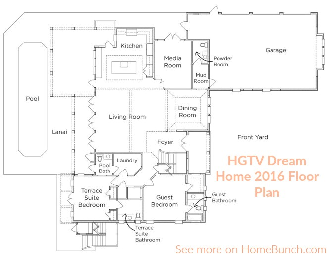 hgtv 2015 dream home floorplan