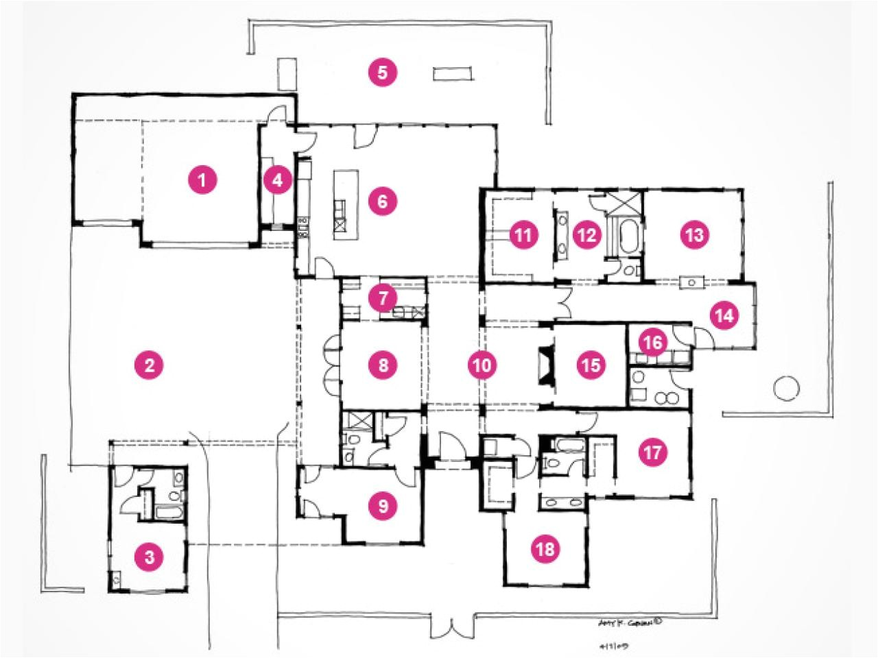 hgtv dream home 2010 floor plan and rendering