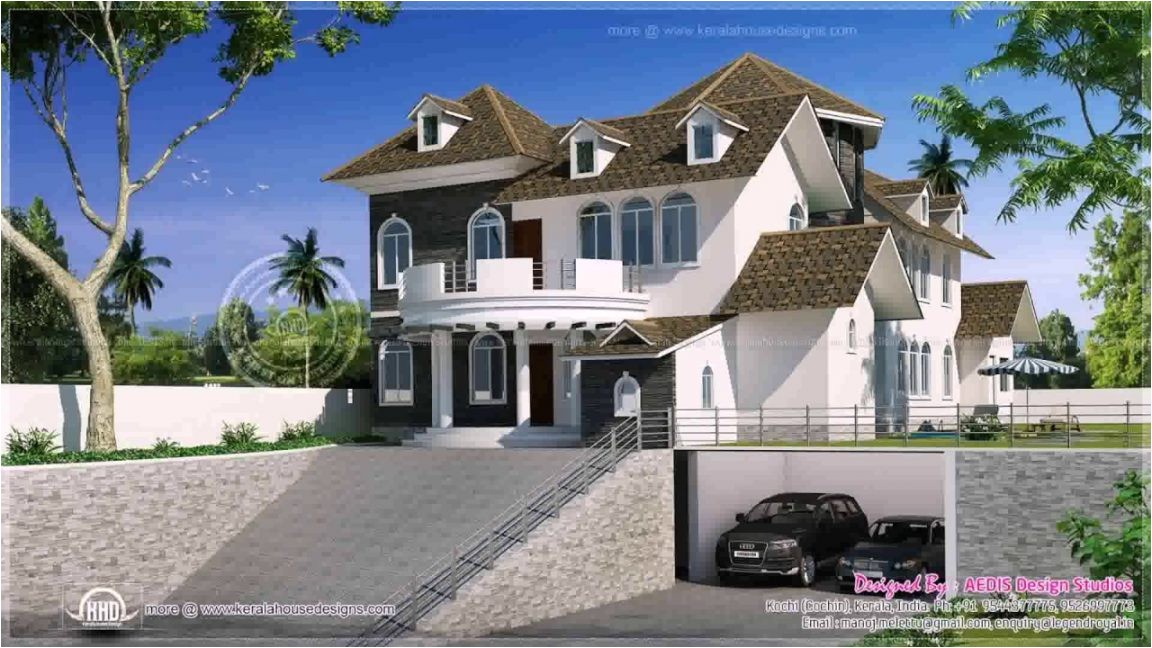 sloping lot house plans hillside