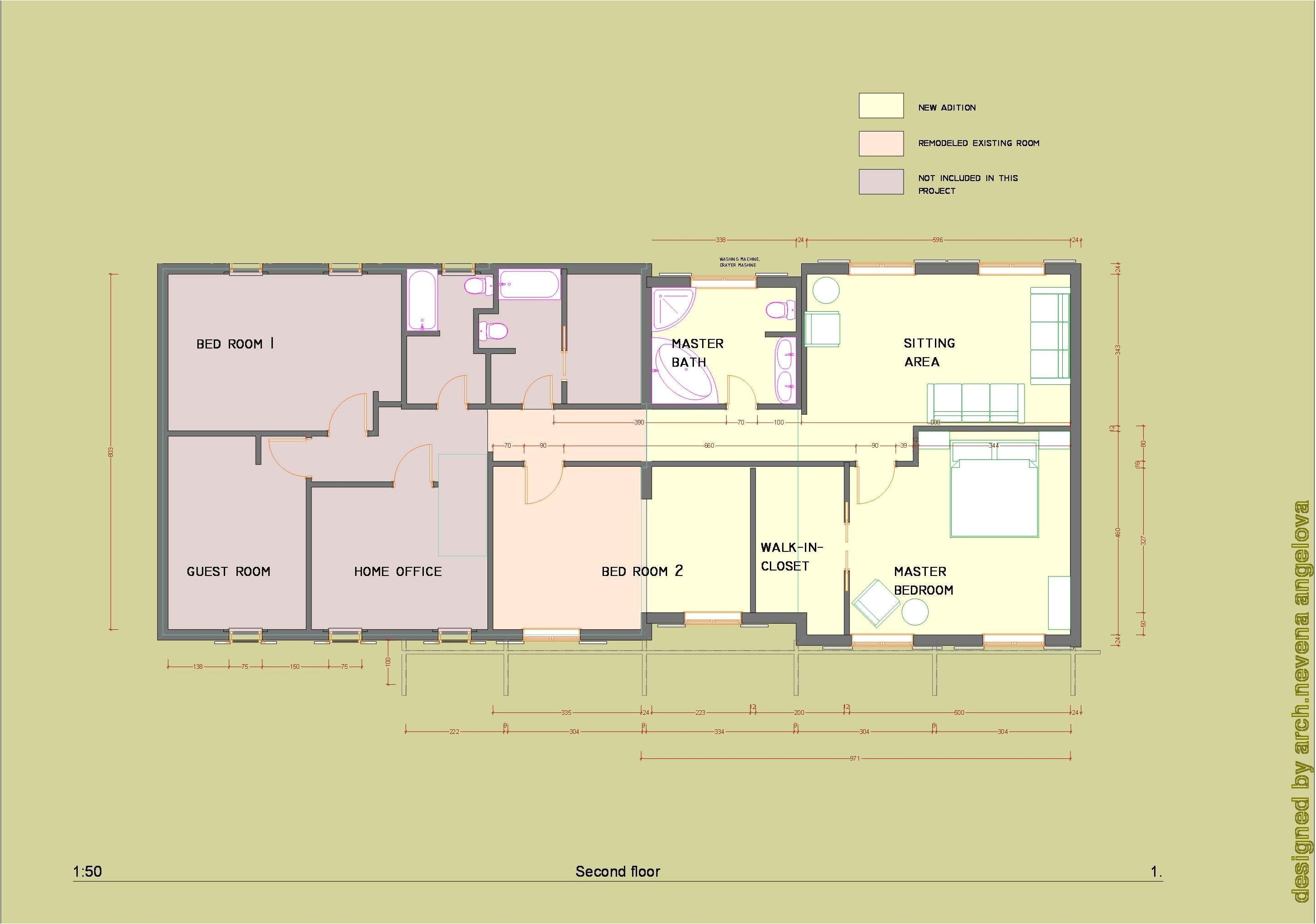 ranch house addition plans