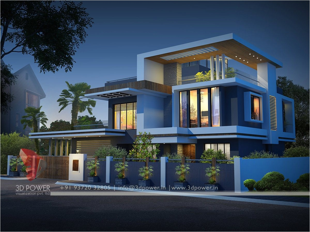 contemporary bungalow exterior designs