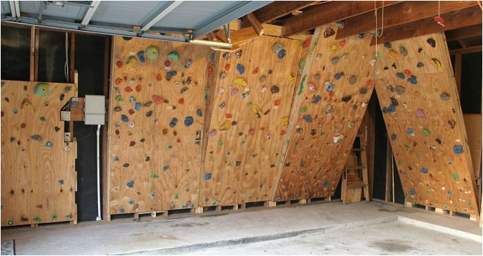 diy rock climbing wall under 100