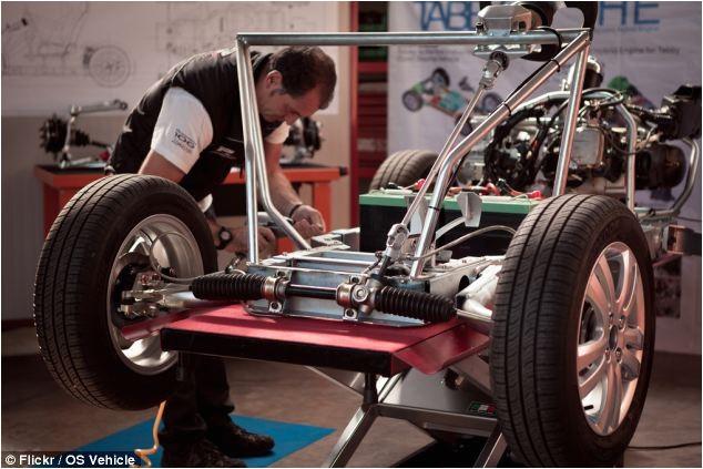construye tu coche a la manera de ikea