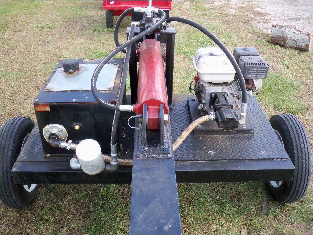 homemade log splitter ideas hydraulic tank 287658