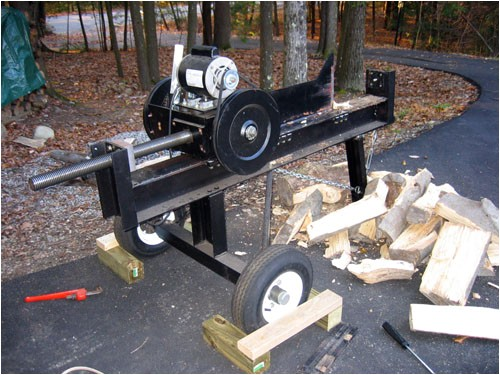 Home Built Log Splitter Plans Homemade Wood Splitter Plans Pdf Woodworking