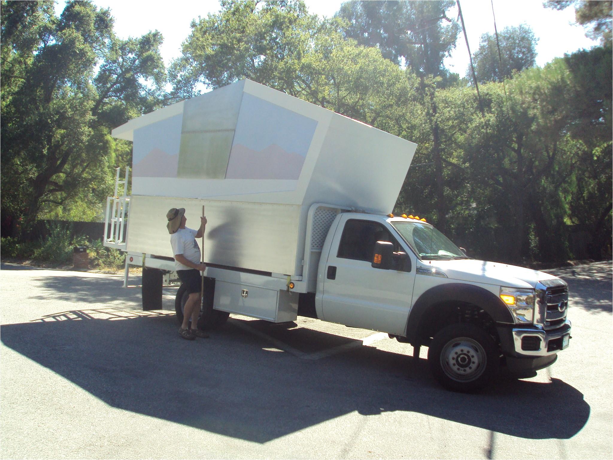 diy small pickup camper plans