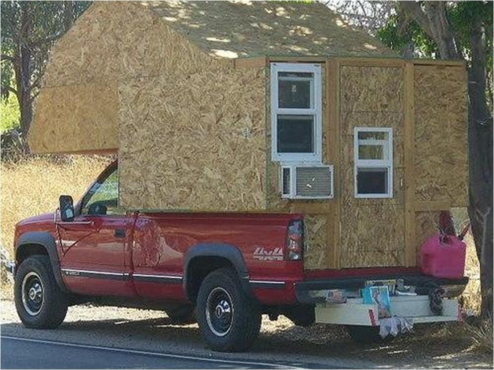 home built truck camper plans