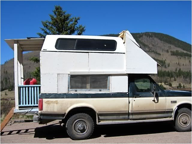 home made truck campers