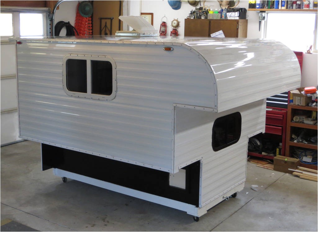 ideas homemade pickup camper plans