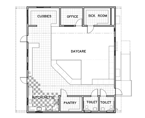 floor plans for daycare centers