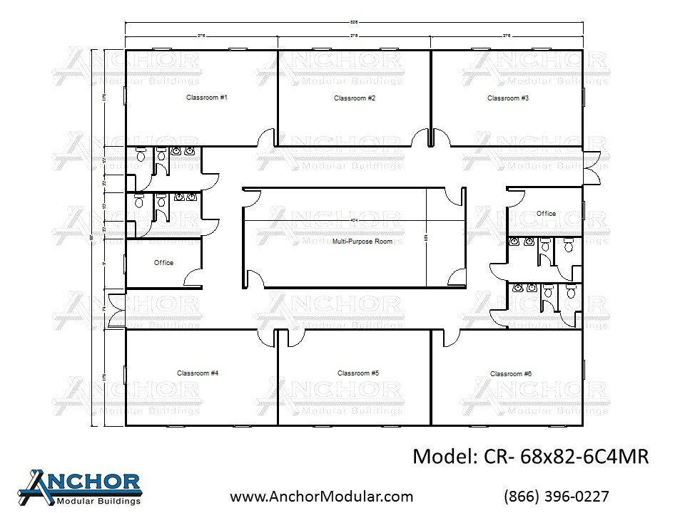 home child care floor plans