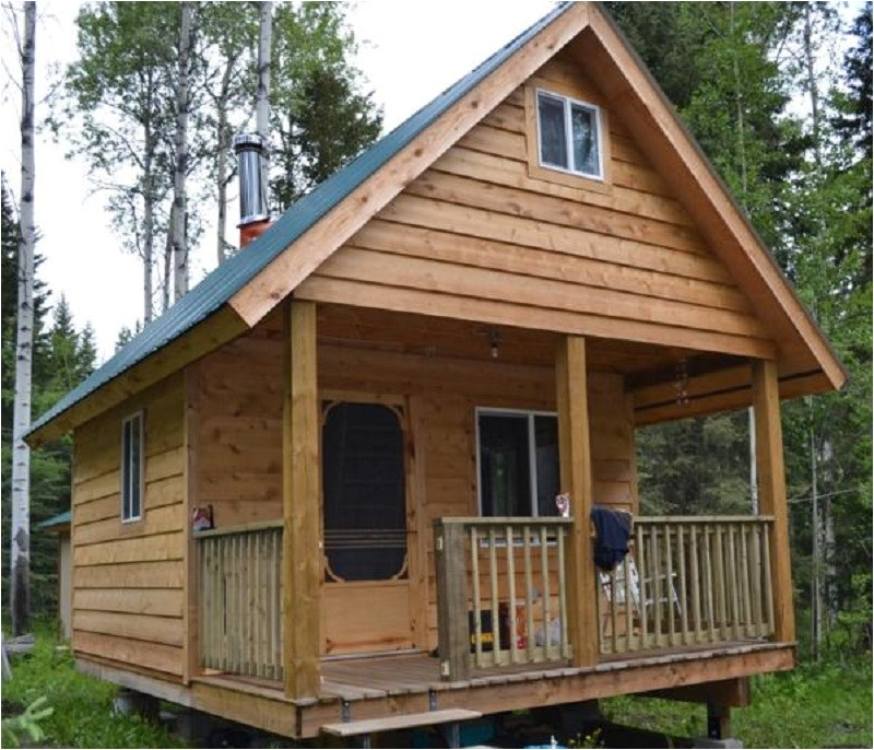 diy tiny cabin with plans