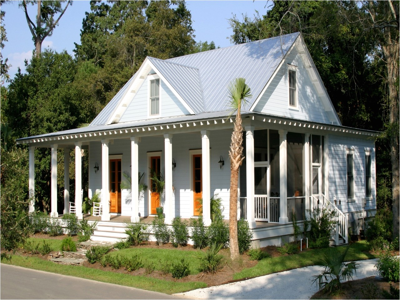 18878225ef7c14ef small country cottage home designs home depot katrina cottages