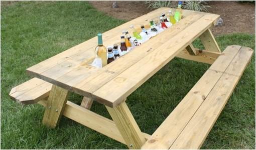picnic table plans home depot