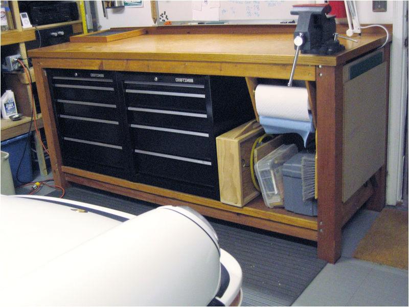 homemade workbench home depot