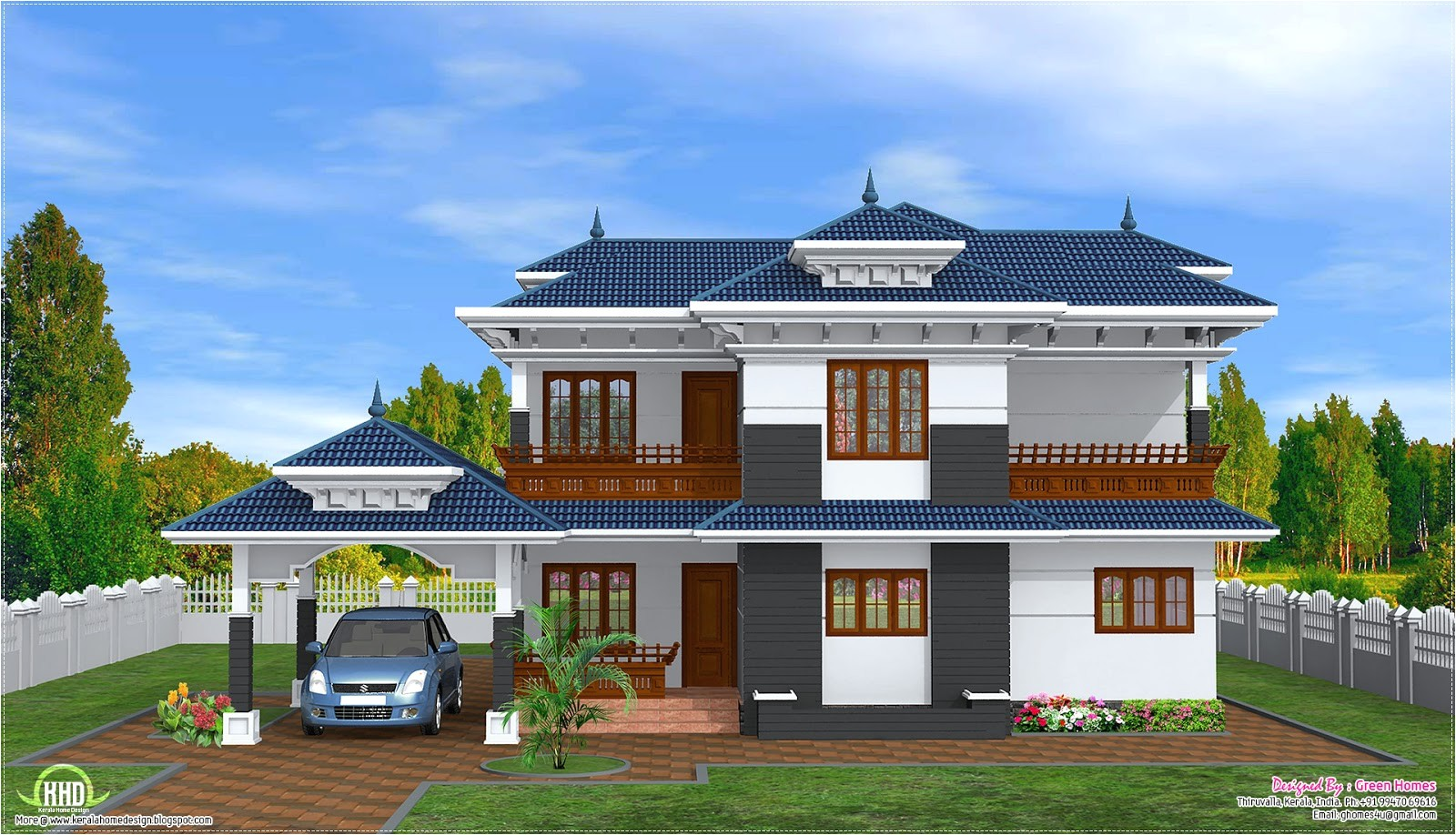 Home Designs and Plans February 2013 Kerala Home Design and Floor Plans