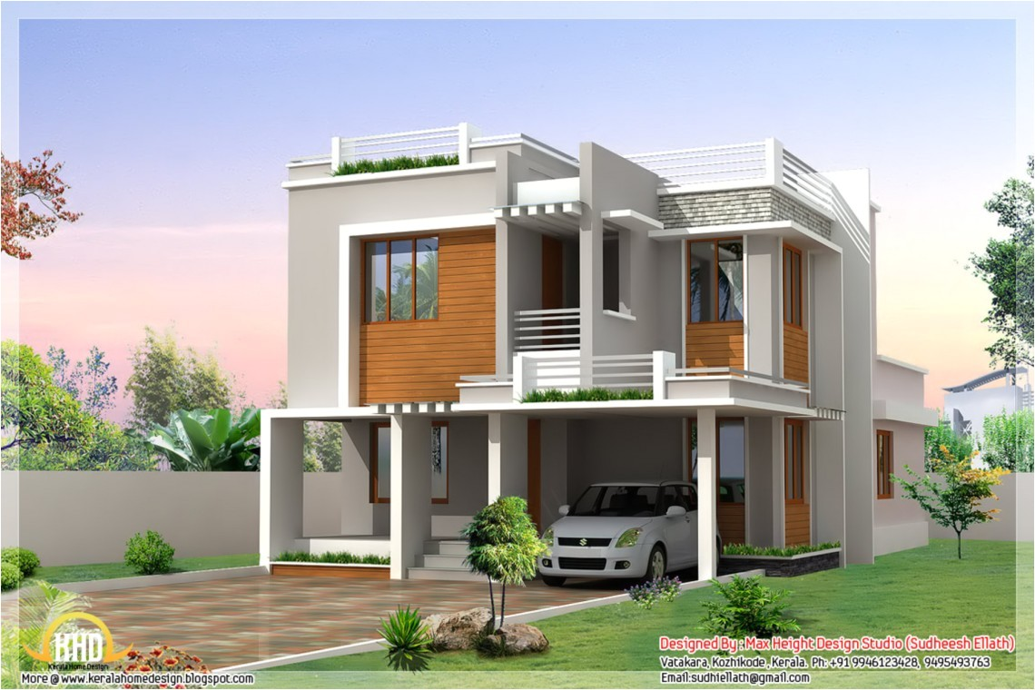 beautiful house with roof deck designs and ideas