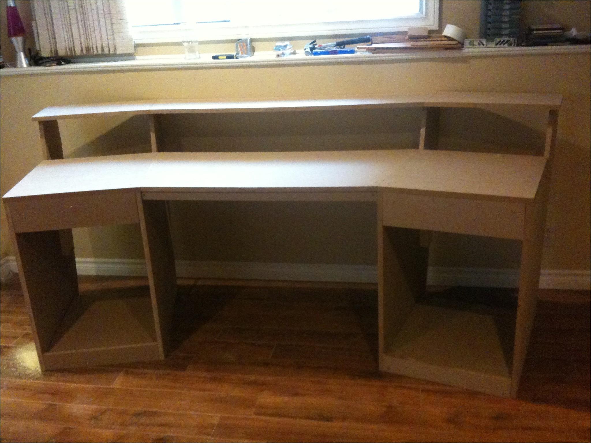 Home Desk Plans Diy Recording Studio Desk Plans Woodideas