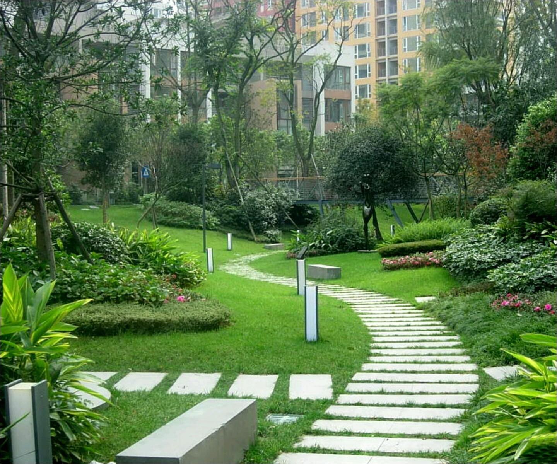 modern beautiful home gardens designs