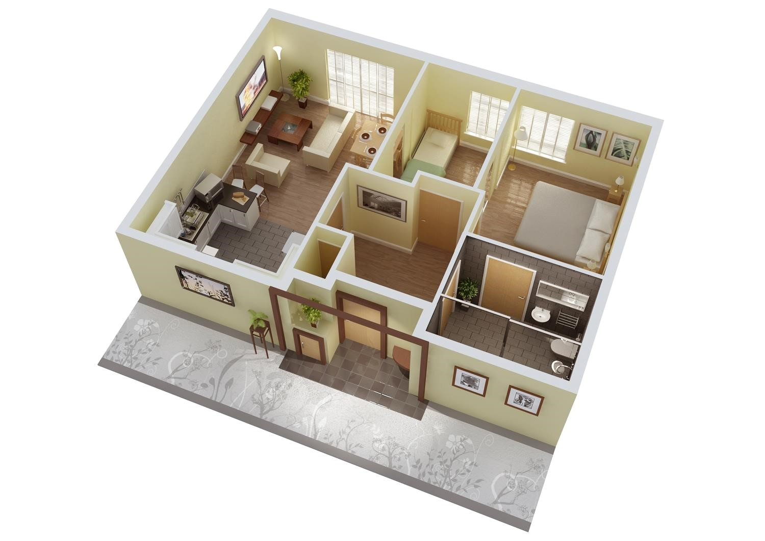 killer 3d home plans and designs