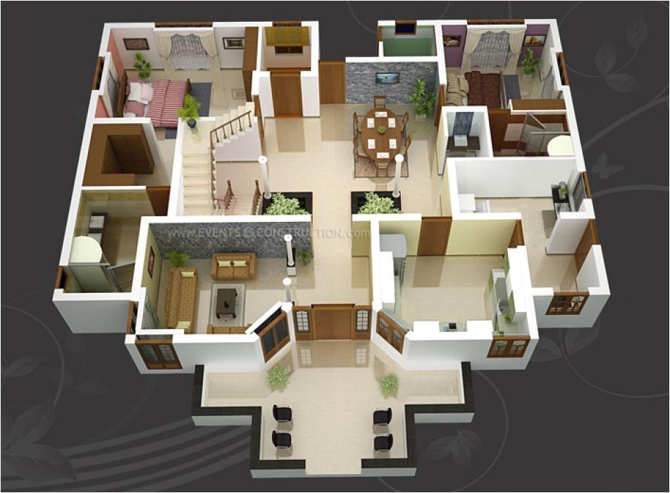 Home Plan 3d Design Online Make 3d House Design Model Stylid Homes