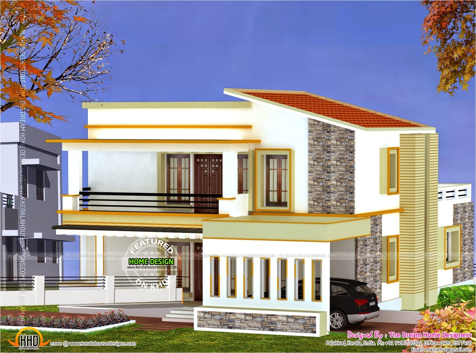 3d view and floor plan