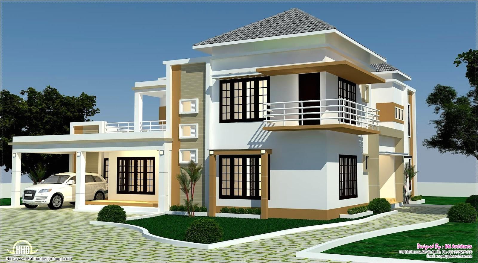 Home Plan 3d View Floor Plan 3d Views and Interiors Of 4 Bedroom Villa