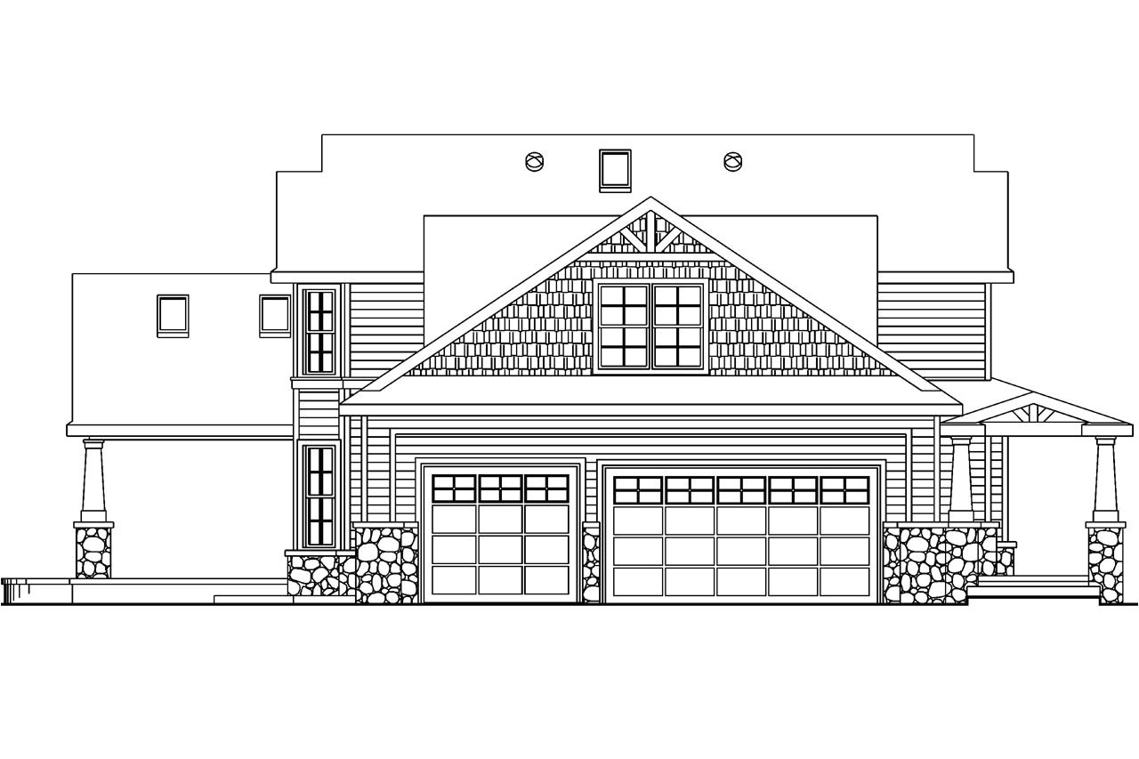 Home Plan and Elevation Plan and Elevation Of House Homes Floor Plans