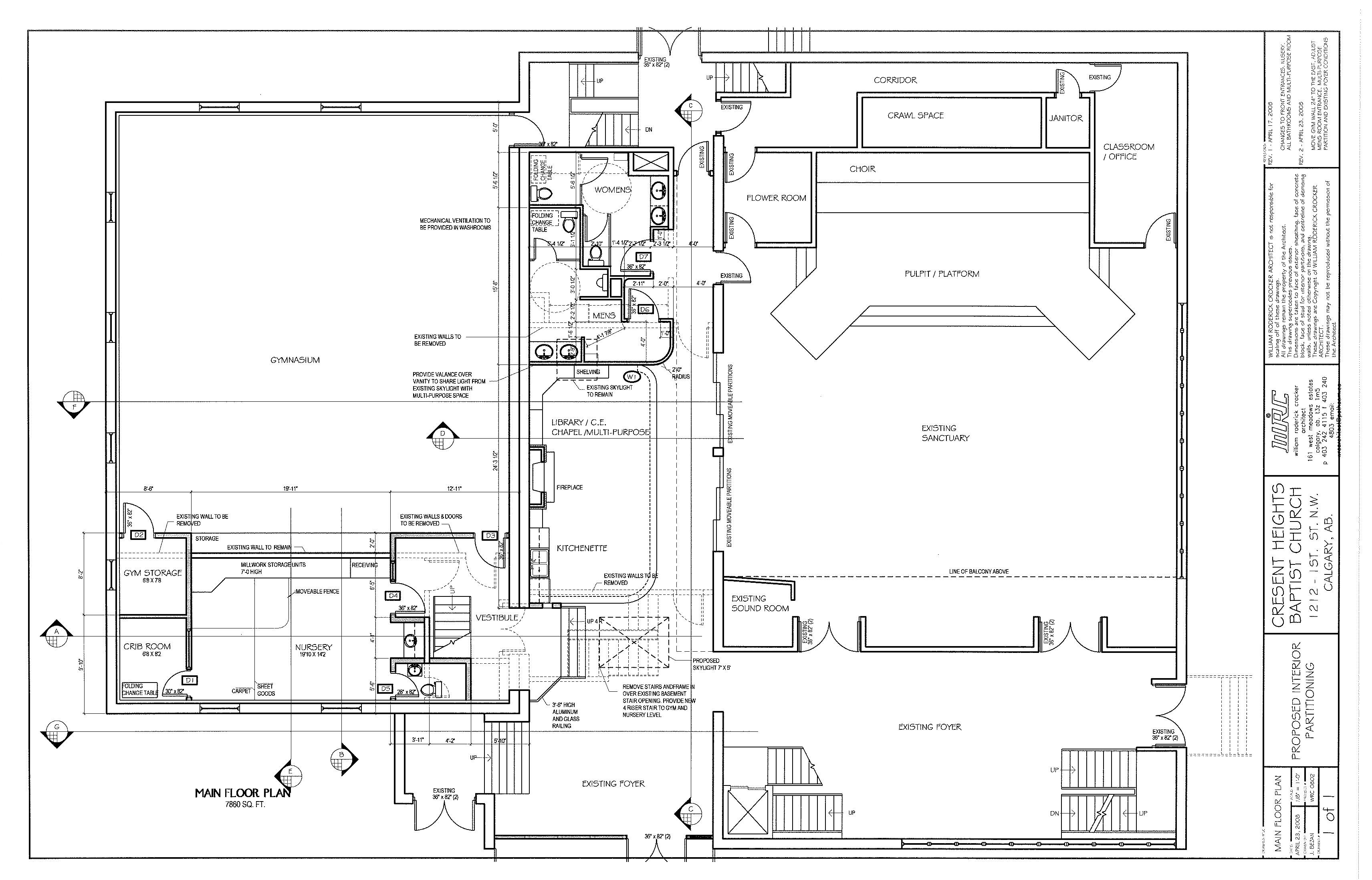 Home Plan Drawing Pdf Rod Crocker Institutional
