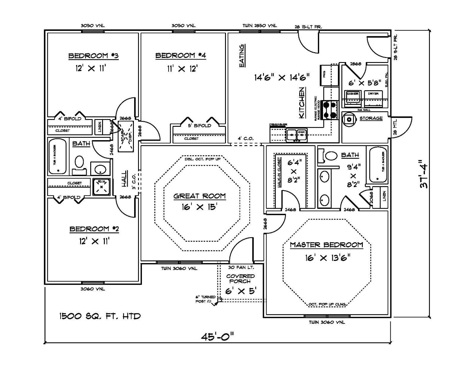 25 simple 1500 sq ft house design ideas photo
